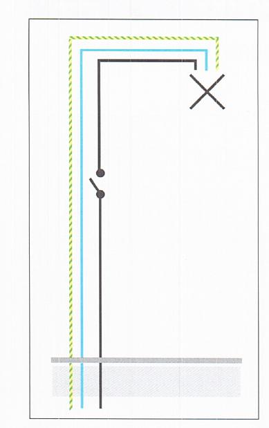 Schema Elettrico Punto Luce : Come fare un punto luce interrotto