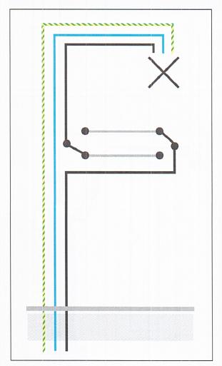Schema Elettrico Punto Luce : Schema elettrico punto luce esecuzione degli impianti