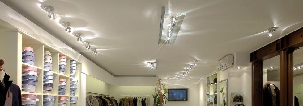 Come scegliere l 39 illuminazione per un negozio di abbigliamento for Illuminazione negozi