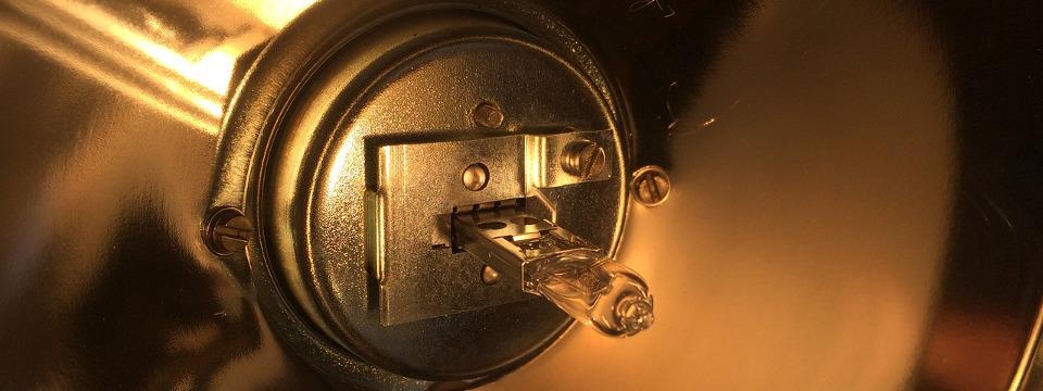 Come cambiare le lampadine alogene